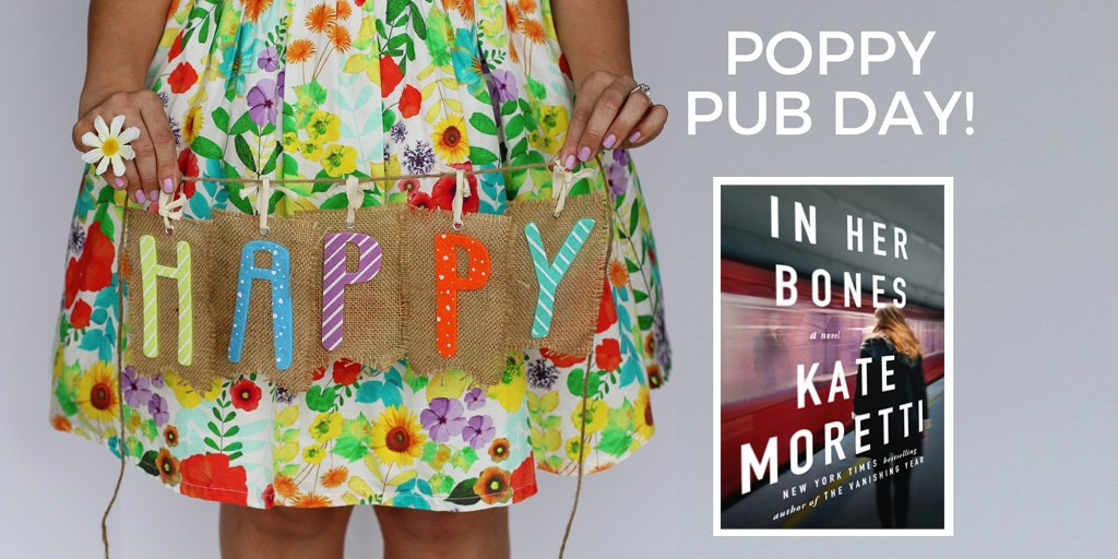 Happy Pub Day to IN HER BONES and Kate Moretti