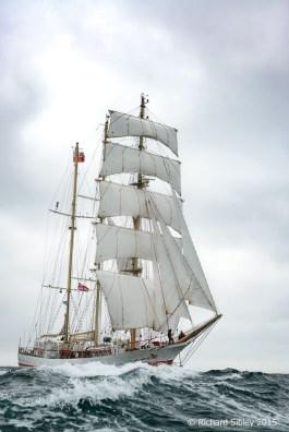 Tall Ships Race Belfast 2015, Race Start Position 55° 16' N 006° 48' W
