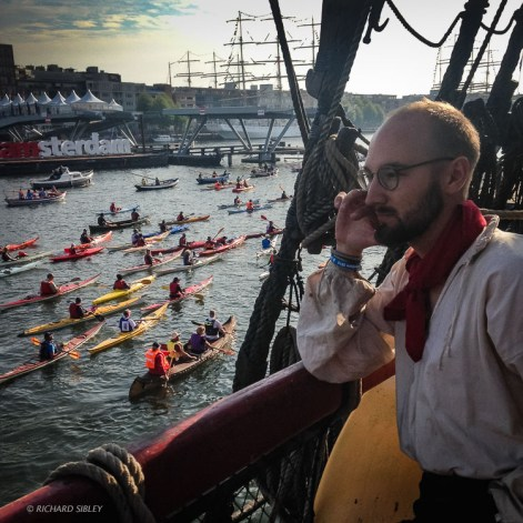 Counting Canoes - Sail Amsterdam 2015