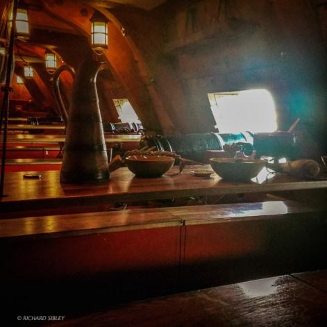 Gun deck - The Swedish Ship Gotheborg