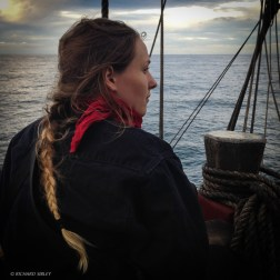 Lookout watch - sailing to Dover