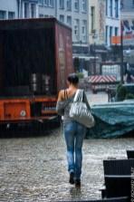 Heavy rain, Antwerp Tall Ships Race 2010