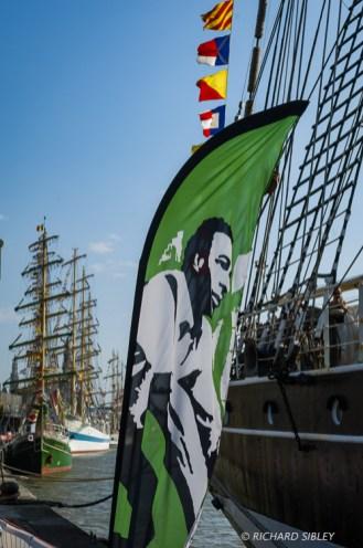 Along the quay. Antwerp Tall Ships Race 2010