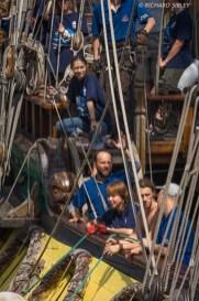 Russian Full Rigger Shtandart - Antwerp Tall Ships Race 2010