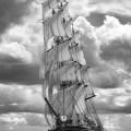 Under full sail. Norths Sea regatta 2010