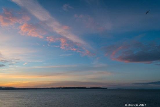 Sunset Brixham Harbour