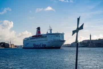 Stena, on route to Denmark
