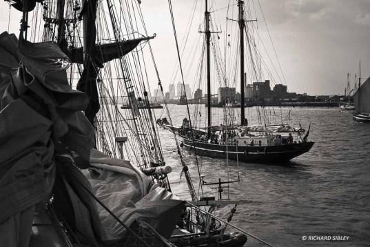 Dutch Gaff Schooner De Gallant, Woolwich
