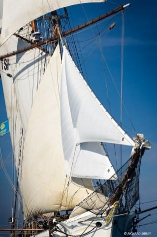 French schooner Etoile. Race start RDV2017