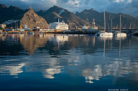 The harbour at Santa Cruz, Tenerife