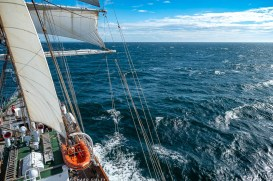 View to starboard