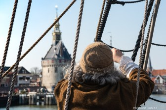 A sailors view of the town of Hoorn
