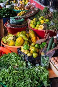 Colourful local produce, Mindelo market