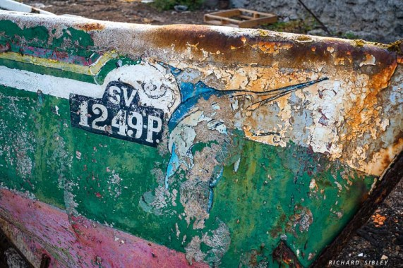 A relic from the fishing fleet
