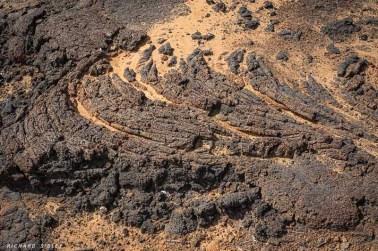 Lava flow, Calhau