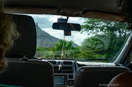 Travel by minibus around the islands