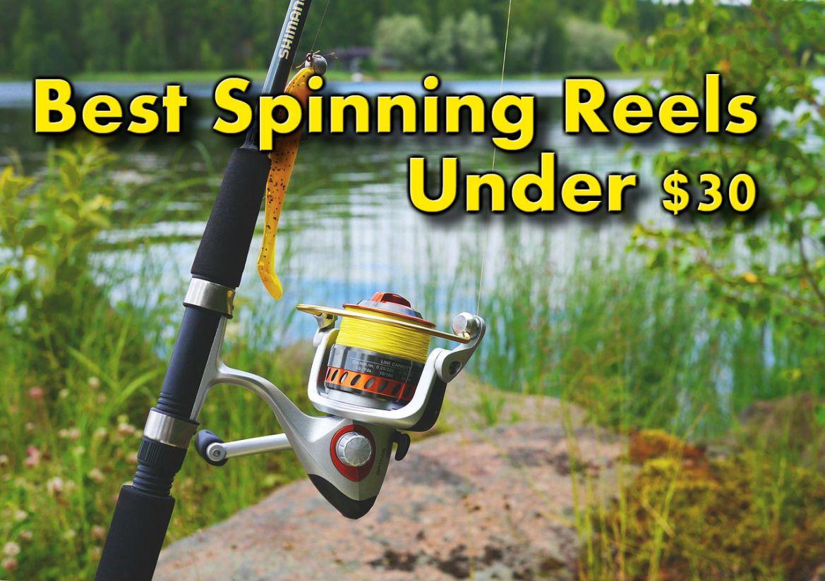 Best Spinning Reels for Under $30