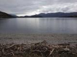 Lake Wanaka from Glendhu before the start of the Motatapu race