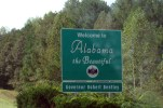 Welcome to Alabama and turn your clocks back one hour too