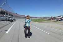 Very happy I got to stand on the track at Talladega