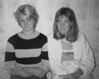 Annmarie and I, erm, quite some time ago