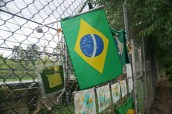 Momentos at the fan memorial site