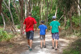 Walking trail around Lake Rotorua