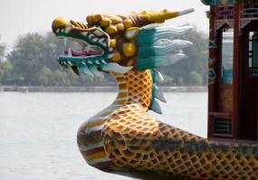 A Kunming Lake ferry