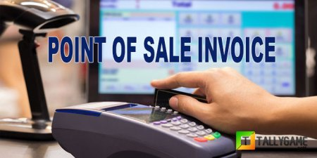 How to create point of sale   POS  Invoice in tally erp 9