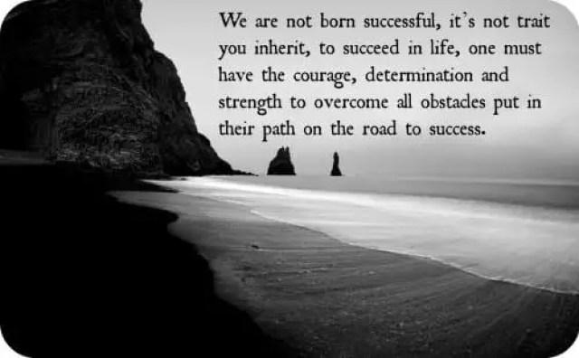 define success