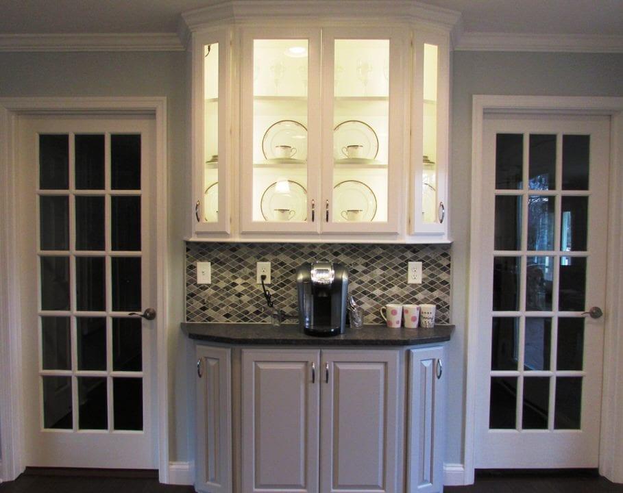 Lovely Frederick kitchen remodel with a beverage station ... on Modern:gijub4Bif1S= Kitchen Remodel  id=98043