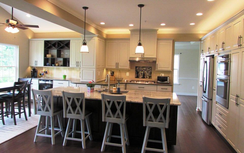 Spacious Kitchen Remodel In Urbana Talon Construction