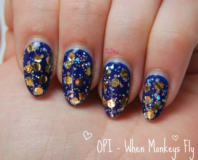 OPI When Monkeys Fly Nail Varnish