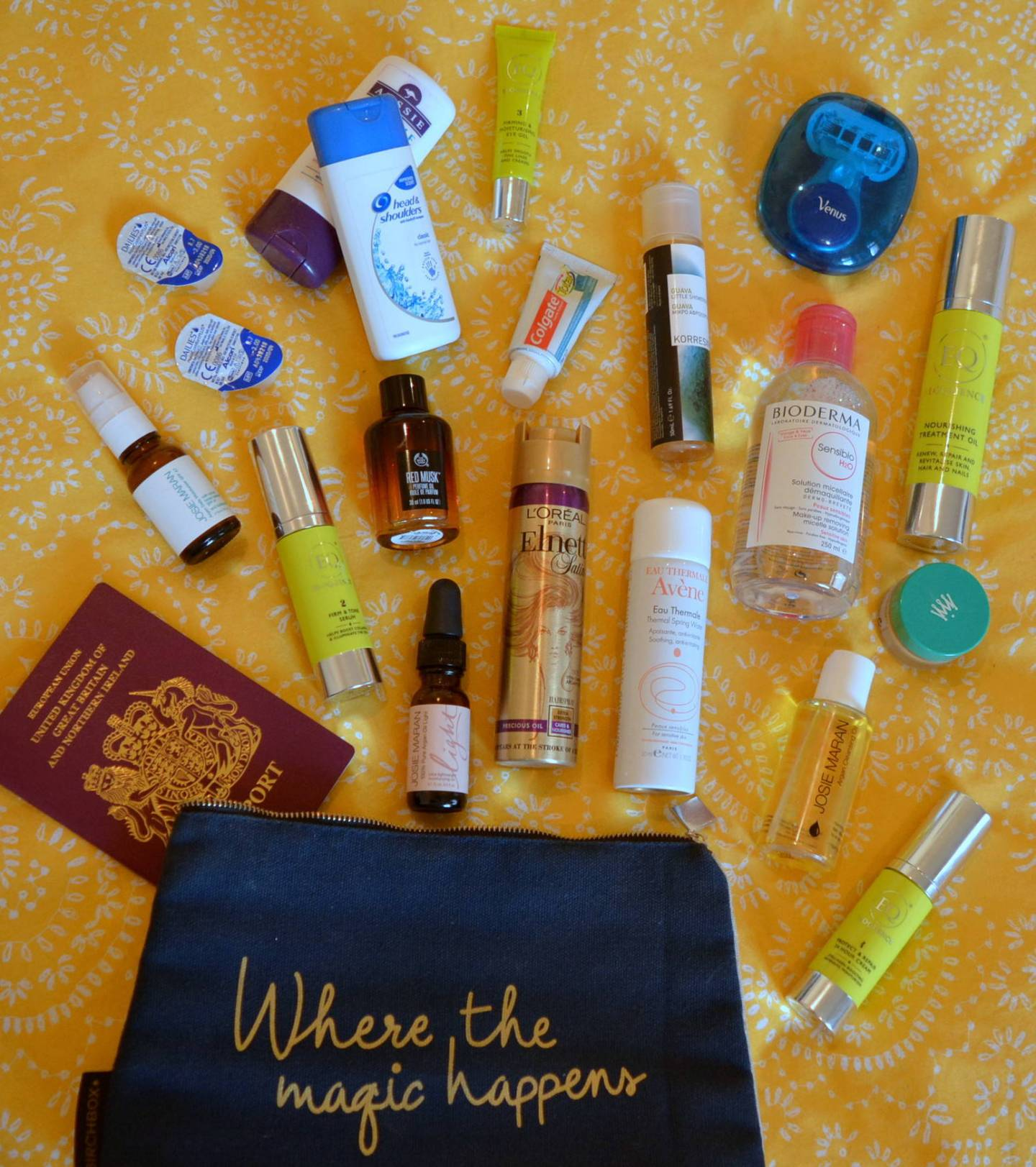 City Break Beauty Travel Bag