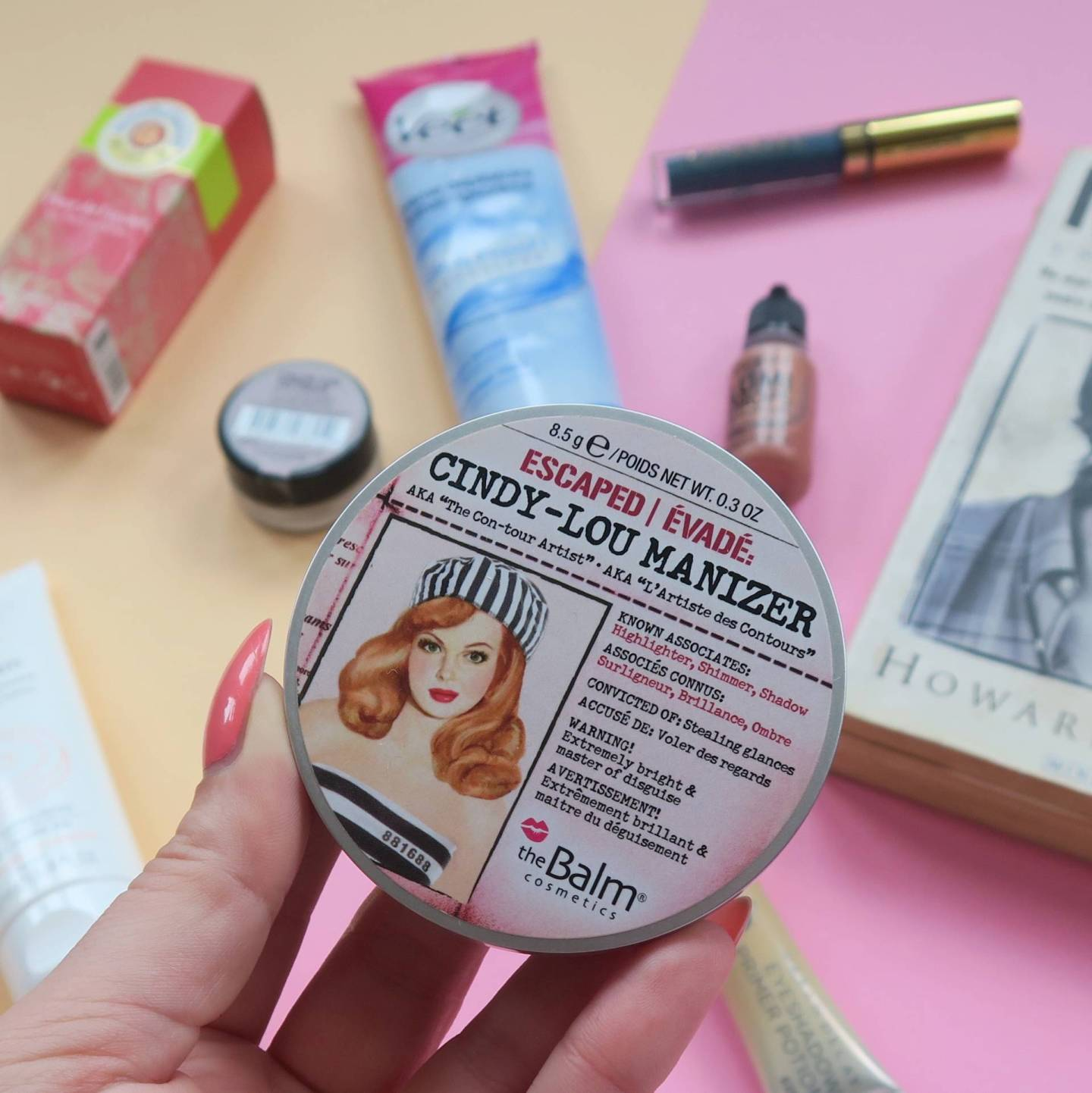 May 2016 Monthly Favourites TheBalm Cindy Lou Manizer