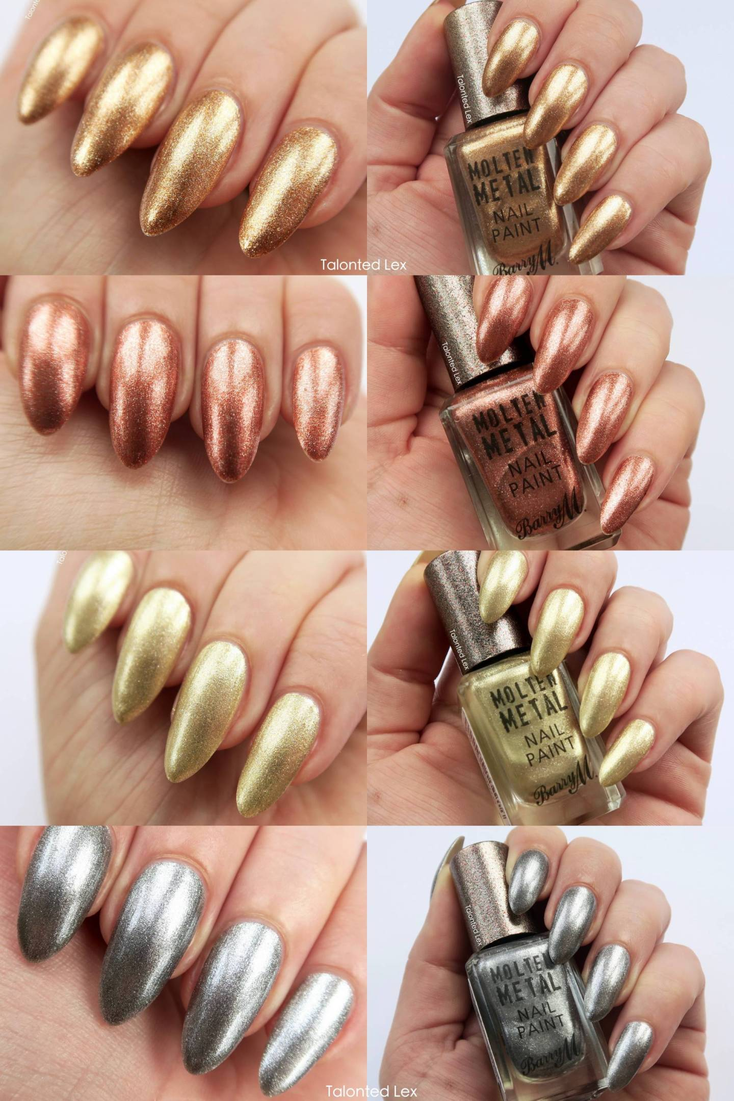Barry M Molten Metals Review - Talonted Lex
