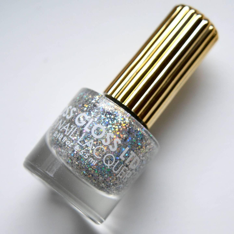 Floss Gloss 'Dimepiece', amazing holographic glitter.