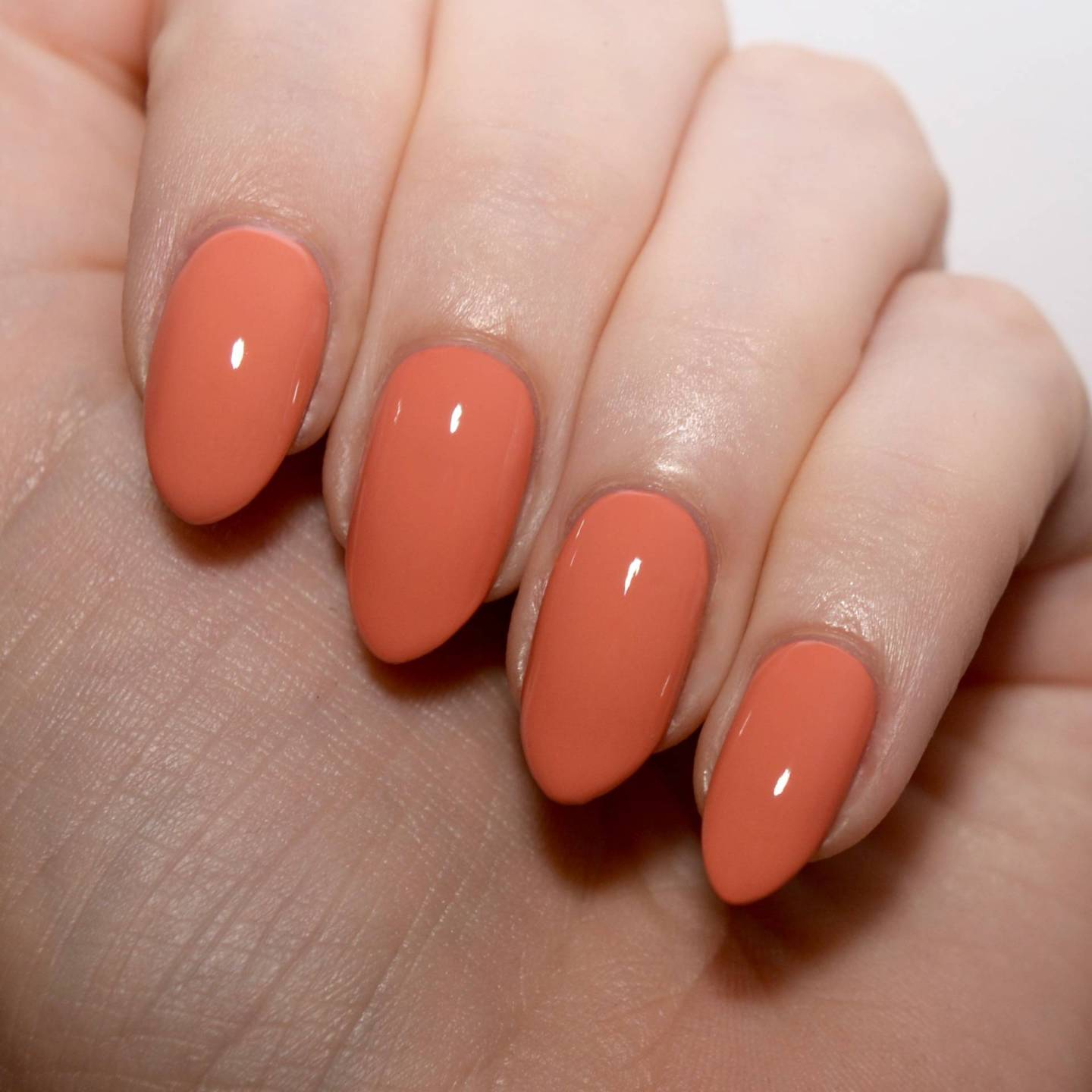 Pastel Orange Nail Polish Essie: Muted Nail Trend With Morgan Taylor Polishes // Talonted Lex