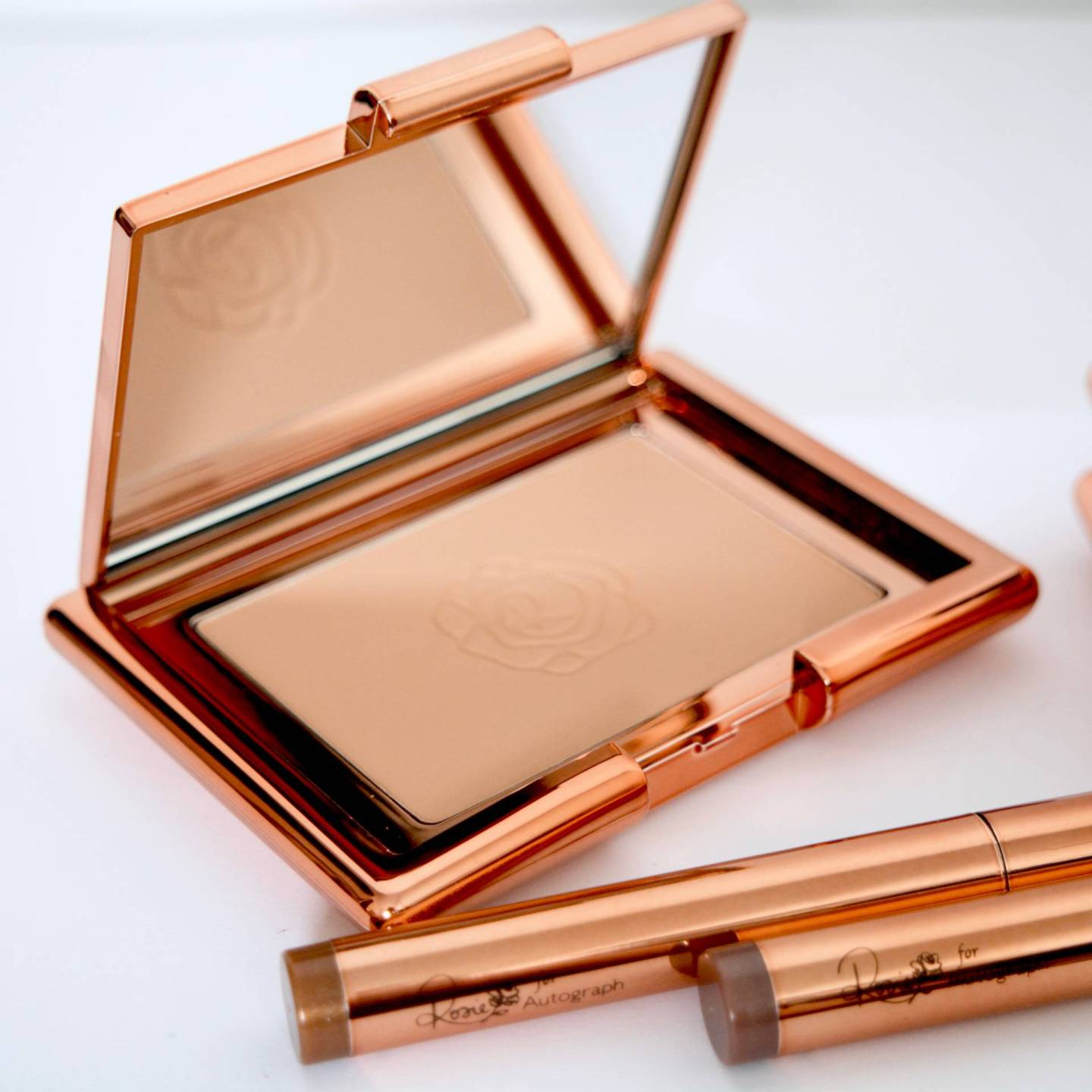 Rosie by Autograph Bronzer - beautiful rose gold packaging!