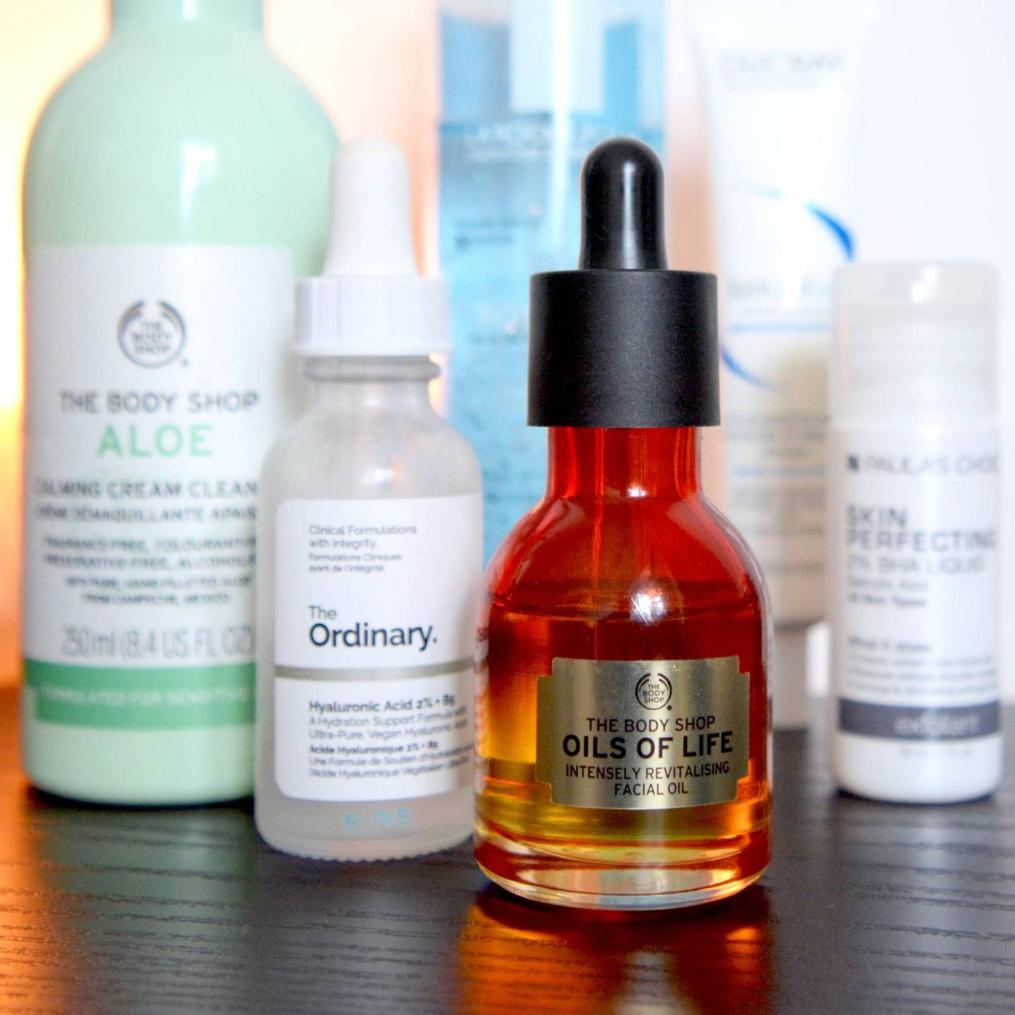 Skincare for rosacea and sensitive skin - The Body Shop Oils Of Life Intensely Revitalising Facial Oil