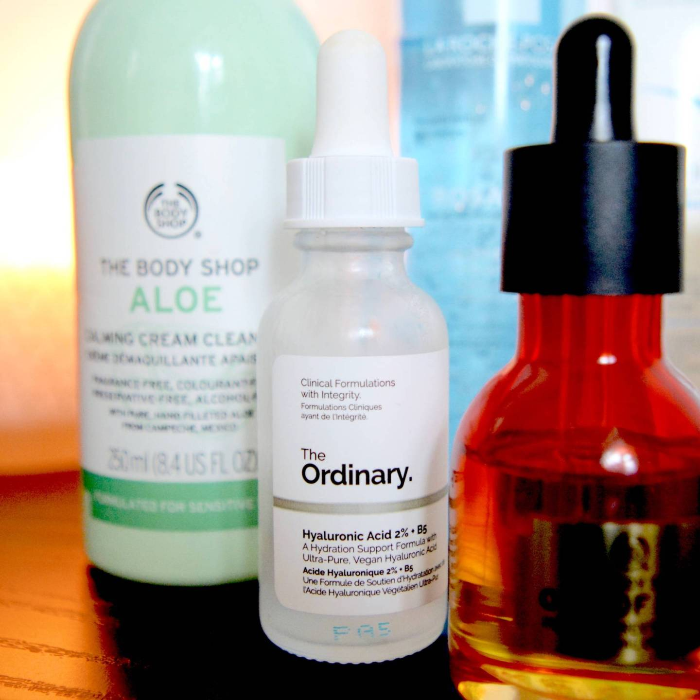 Skincare for rosacea and sensitive skin - The Ordinary Hyaluronic Acid 2% + B5