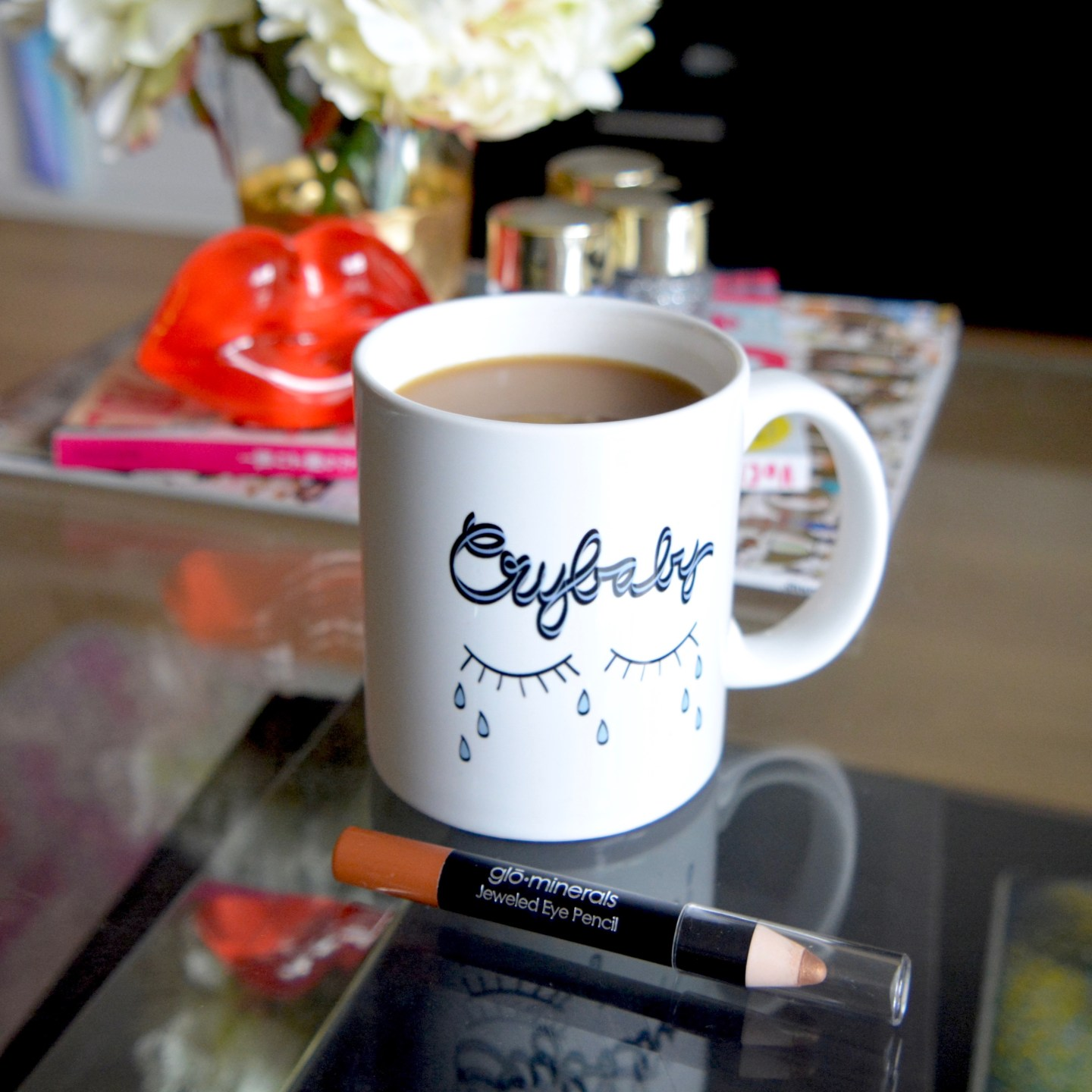 Friday Faves: This Cry Baby mug sums me up so well!
