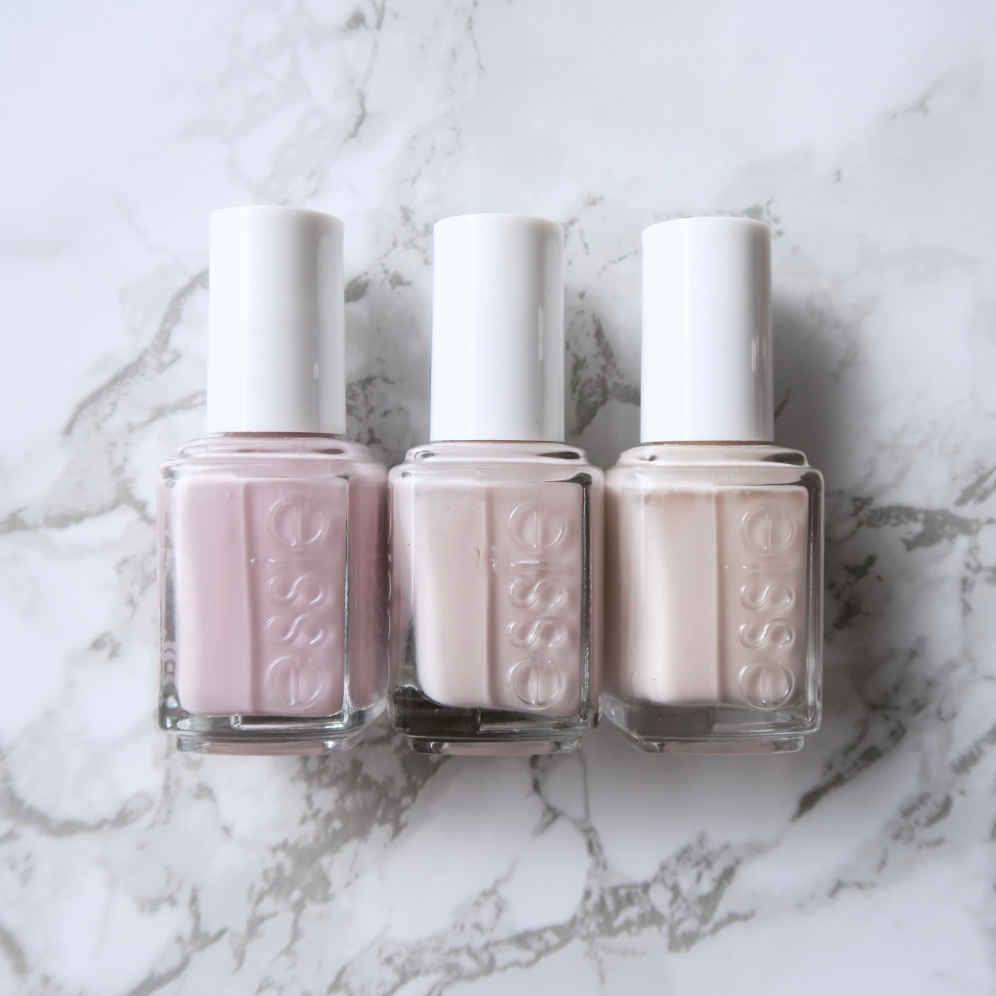 Essie Fall 2017 collection - Mixtaupe, comparison to similar essie polishes