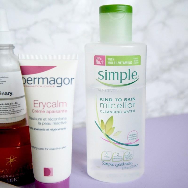 Simple Micellar Water - Skincare routine for sensitive skin, rosacea (Skincare Shake Up)