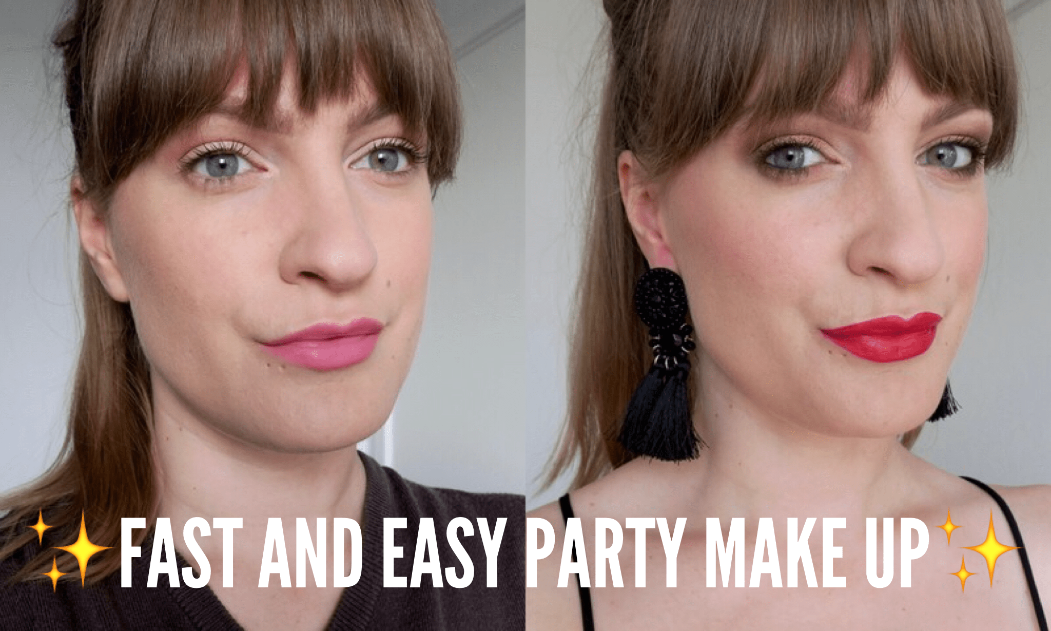 Desk To Dancefloor: how to get office party/date ready in no time at all!