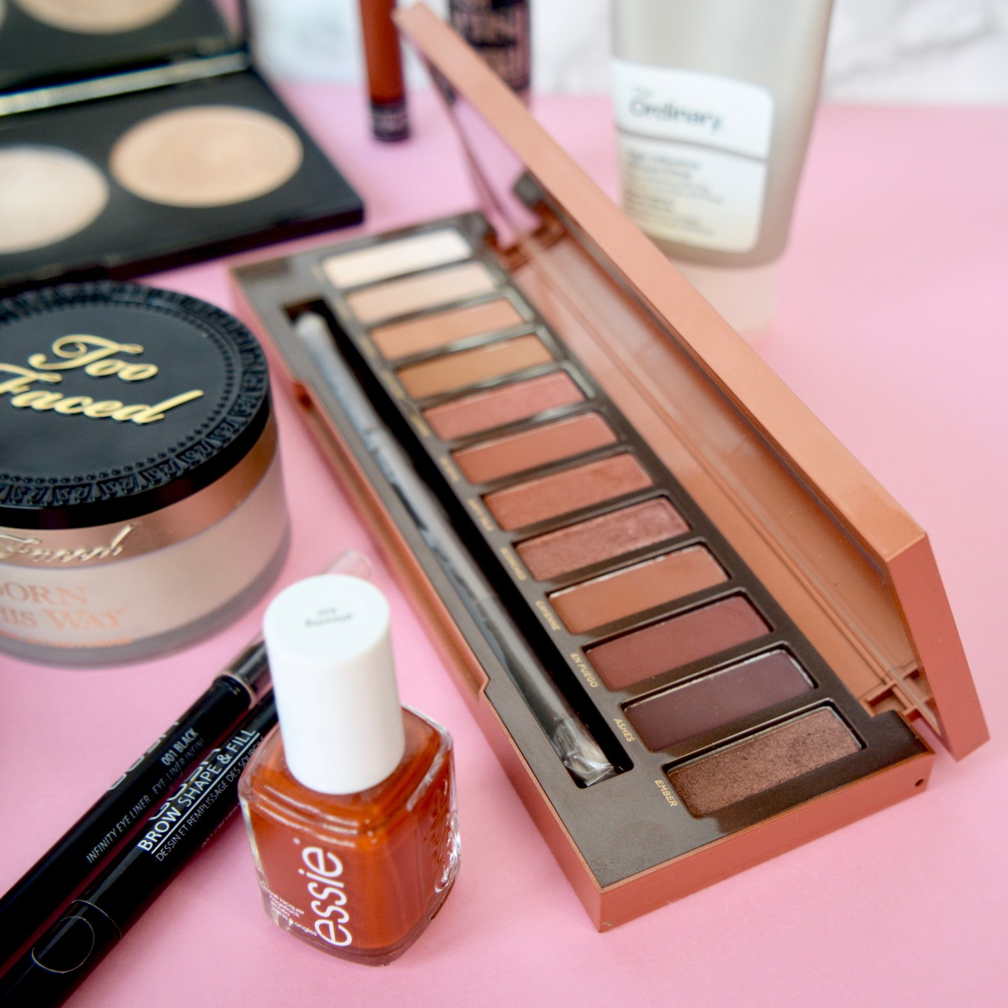 2017 Beauty Favourites - Urban Decay Naked Heat palette