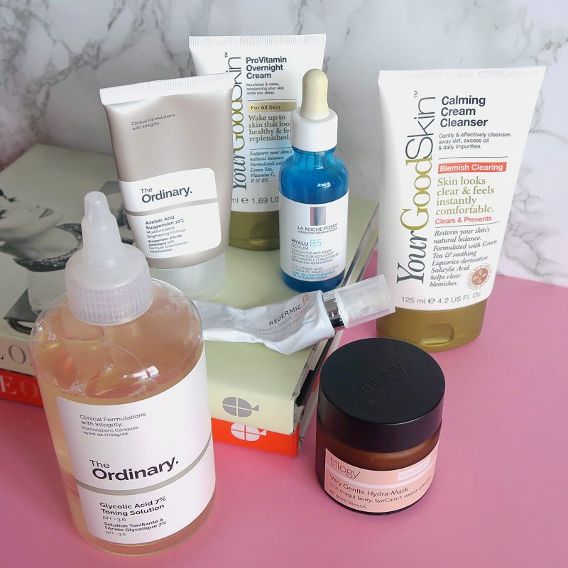 Skincare Shake Up, evening routine (full skincare routine for sensitive, rosacea skin)