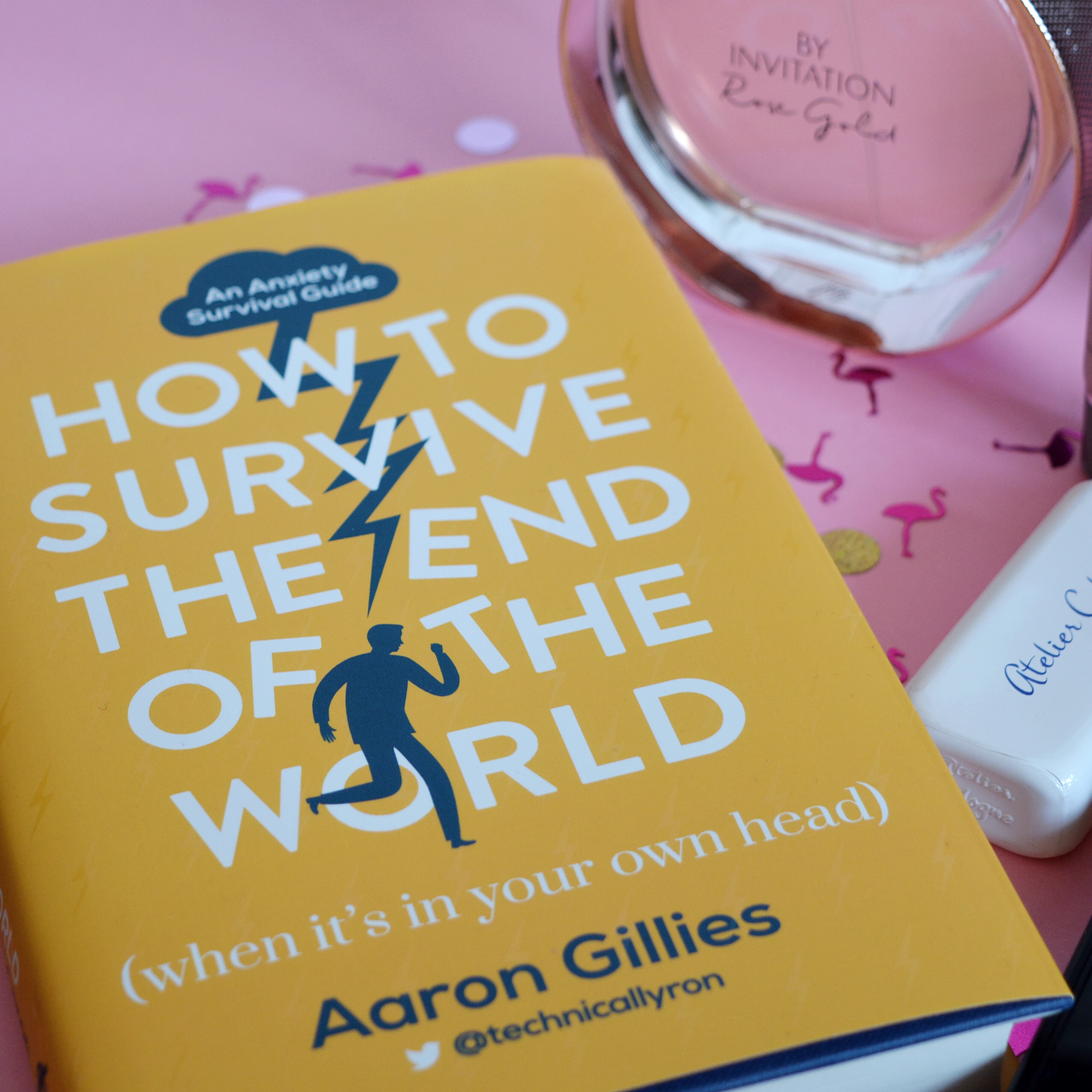A wonderful and funny book about anxiety (Aaron Gillies), mental health advice, self health books for people who hate self help books!