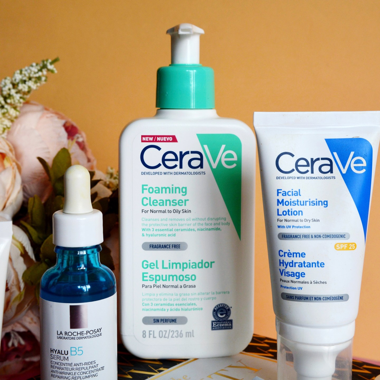My current skincare routine: CeraVe comes to the UK! (rosacea, sensitive skin)
