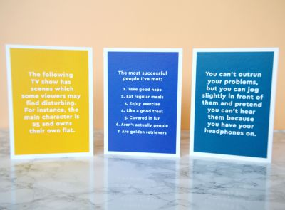 TechnicallyRon x Ohh Deer card range. Funny greeting cards from Aaron Gillies. #talontedlex